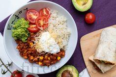 Fitness recepty s vysokým obsahom bielkovín Tahini, Burritos, Chana Masala, Tofu, Cobb Salad, Quinoa, Smoothie, Meal Prep, Tacos