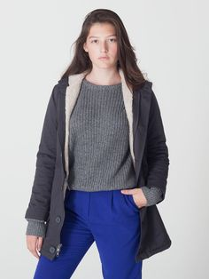 American Apparel - Unisex Winter Jacket made in the USA