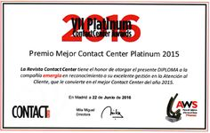 Mejor Contact Center 2015 para emergia