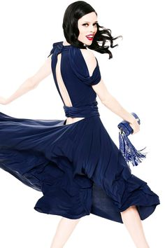 Zac Posen - S2013 - Coco Rocha Hollywood!