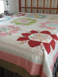 Swoon Quilttop Complete! - via @Craftsy