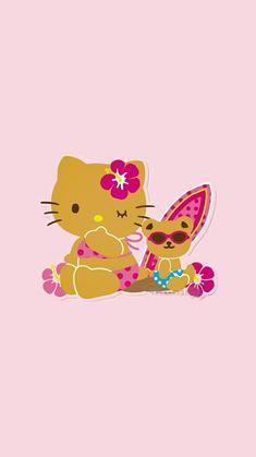 Hello Kitty Backgrounds, Hello Kitty Wallpaper, Little Twin Stars, Little Girls, Hello Kitty My Melody, Sanrio Wallpaper, Hello Kitty Pictures, Wall Boxes, Overlays