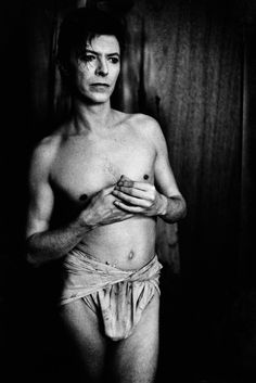 David Bowie (The Elephant Man) 1980 Chicago