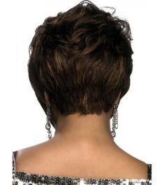 Short Straight Blonde Brown Synthetic Wig Stile Taglio Pixie 08e5e8edd6a0