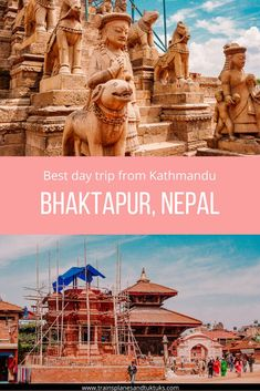 Bhaktapur Durbar Square is the most stunning example of medieval architecture in Nepal. The town drips with history and culture. It's one of the best day trips from Kathmandu. Read on to learn more about the hidden gems of this ancient town... #nepal #travel
