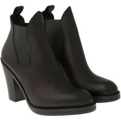 Acne Studios Star Leather Boot