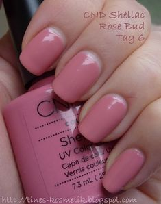 Die Farbe Rose Bud ist mittlerweise schon knapp 6 Tage auf meinen Nägeln und ic… The color rose bud is middle way schon knapp 6 days in a much is really loved from the haltability! Pink Shellac Nails, Shellac Nail Colors, Shellac Nail Designs, Nails Rose, Essie Gel, Nail Polish, Creative Nail Designs, Super Nails, Birthday Nails