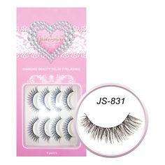 Jealousness Diamond Beauty False Eyelashes JS-831 (8 Pairs)