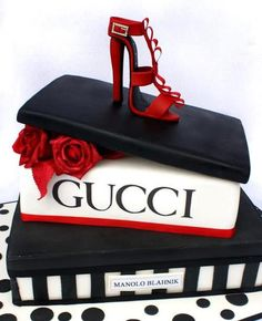 It's a Cake!  Fashion Inspired Cakes and Cupcakes (found via: data.whicdn.com)