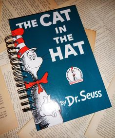 Dr Seuss Vintage Journal Recycled Book Cover by ExLibrisJournals, $22.00
