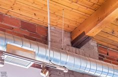 Feather Factory Lofts-2154 Dundas St W #PH1 | WOW! Rare penthouse junior 1 bedroom authentic post, brick & beam heritage LOFT, with exposed brick walls, extra high 14.5 ft high factory wood ceilings & bright West exposure from large warehouse windows. | More info here: torontolofts.ca/feather-factory-lofts-lofts-for-sale/2154-dundas-st-w-ph1-1 Exposed Brick Walls, Wood Ceilings, Lofts, Beams, Warehouse, Ph, Feather, Stairs, Bright