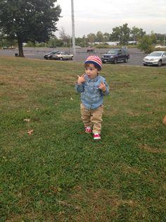 Stylish kid #denim shirt #vans