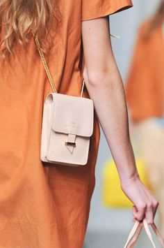 This clutch is IT! Karen Walker Spring 2014