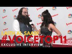 """Laith al Saadi interviewed at """"The Voice"""" Season 10 Top 11 #VoiceTop11 #TheVoice #TeamAdam @LaithAlSaadi"""