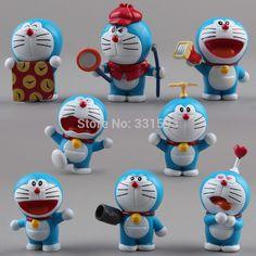 Anime-Cartoon-Cute-font-b-Doraemon-b-font-Mini-PVC-Figures-Models-Toys-Dolls-8pcs-set.jpg (800×800)