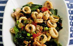 Σερβίρουμε με όσο χυμό λεμονιού θέλουμε και φρεσκοτριμμένο πιπέρι. Pasta Salad, Food And Drink, Ethnic Recipes, Crab Pasta Salad, Macaroni Salad