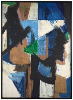 Judith Godwin, Divisions 1955, Oil on canvas