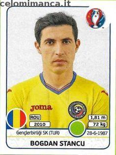 UEFA EURO 2016™ Official Sticker Album: Fronte Figurina n. 65 Bogdan Stancu