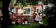 Parfait food truck on a warm summer day.