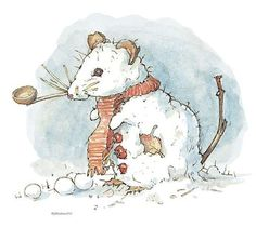 Brambly Hedge Snow Mouse