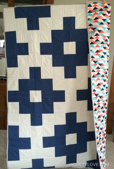 Quilty Love   Another solids charm quilt   http://www.quiltylove.com
