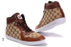 Gucci Men Shoes High Shoes, Men's Shoes, High Top Sneakers, Shoes Sneakers, Gucci High Tops, Gucci Boots, Gucci Men, Jordan Shoes, Lace Up