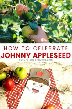 Apple Activities, Hands On Activities, Preschool Activities, Kindergarten Lesson Plans, Preschool Lessons, Johnny Appleseed, Apple Art, Fun Arts And Crafts, Apple Seeds