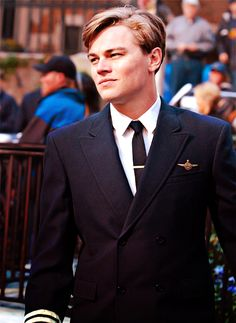 "#LeonardoDiCaprio as Frank Abagnale Jr in ""Catch Me if You Can"" (2002)"