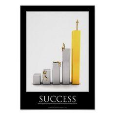 Motivational Success Poster
