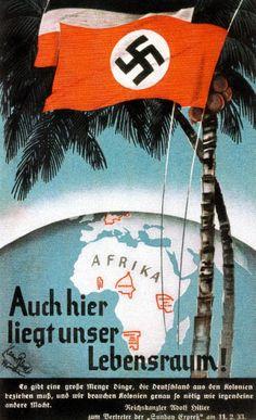 Propagandaplakat NSDAP, um 1935.