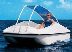 solar powered boat and other vehicles