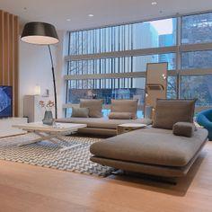 Ligne Roset Sofa, Gray Sofa, Parquet Flooring, Living Room Sofa, Daybed, Floor Chair, Sweet Home, Yahoo, House Design