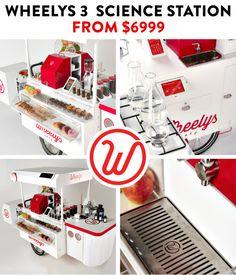 WHEELYS 3 Your own café for $2999   Indiegogo
