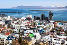 Rooftops in Reykjavik, Iceland - taken by Ashlae at Oh, Ladycakes