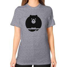 Bear Unisex T-Shirt (on woman)
