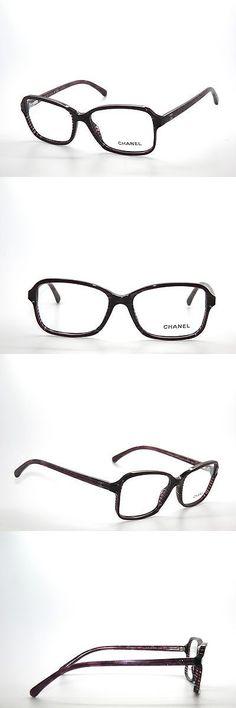 0a11782c9e78d Fashion Eyewear Clear Glasses 179248  Sale    Chanel 3317 1517 Red On Dark  Violet Glitter Eyeglasses 52 -  BUY IT NOW ONLY   79.99 on eBay!