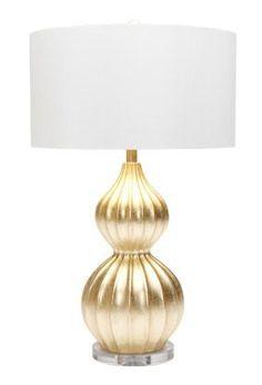 Made Goods Lydia gold lamp: Michael Mitchell, Charleston
