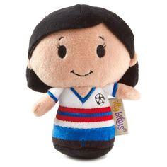 itty bittys® Soccer Girl LIMITED EDITION Stuffed Animal