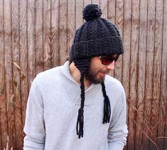 Fast & Furious Earflap Hat | AllFreeKnitting.com