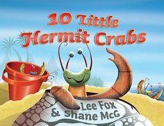 10 Little Hermit Crabs by Lee Fox, 9781742379524.