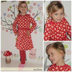 lillesol & pelle Schnittmuster/ pattern: Kleid mit amerikanischem Ausschnitt