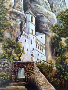 Monastery Ostrog Serbia