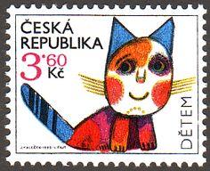 Ceska Republicka Postimerkki -切手蒐集の愉しみ- 世界の可愛い切手ブログ