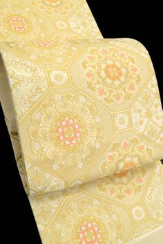 河村織物・特選手織り袋帯「雅蜀甲花紋」