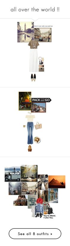 """""""all over the world !!"""" by lo2lo2a ❤ liked on Polyvore featuring WALL, Zara, Lanvin, Yves Saint Laurent, Urban Decay, Smashbox, Chanel, Marchesa, Michael Kors and Hudson Jeans"""