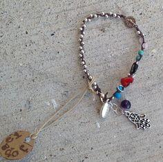 Pulcera Con Medalla De San Benito- Hamsa Hand,evil Eye Bracelet | eBay