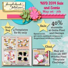 Special iNSD Sale by Angelclaud Artroom! Come check out Angelclaud Artroom Blog Post for more fun iNSD events! Blog Post; http://angelclaudartroom.com/nsd-2014-sale-and-events/. 01/05/2014
