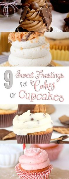 9 Fun Frosting Recipes for Cakes or Cupcakes | eBay