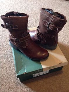 New boxed #womens josef seibel #sandra 02 brasil ankle boots #brown size uk 8,  View more on the LINK: http://www.zeppy.io/product/gb/2/252575254305/