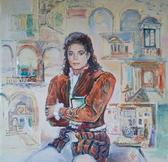 "CRISTINA OPRISENESCU - ""Michael Jackson"""